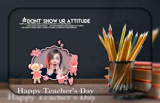 Teachers Day Photo Editor  screenshots 2