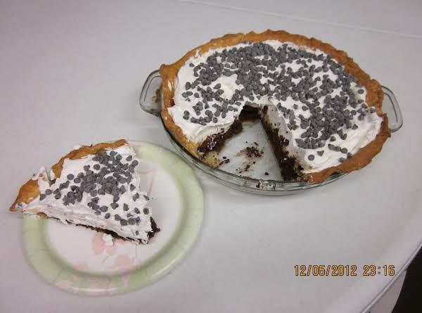 Banana Fudge Pie Recipe