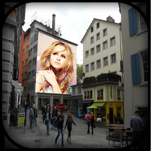 Street Poster Photo Frame