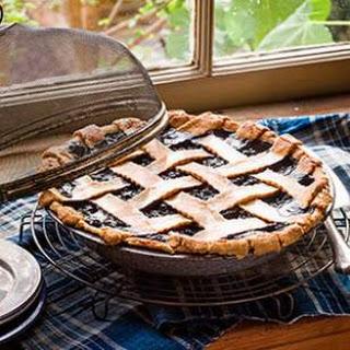 Maple Wild Blueberry Pie.