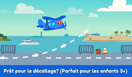 Code Triche Carl le Super Jet: Jeu d'Avion de Sauvetage APK MOD screenshots 2