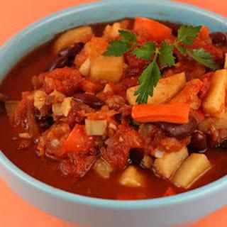 Sweet Potato Chili (vegan!) Slow Cooker.