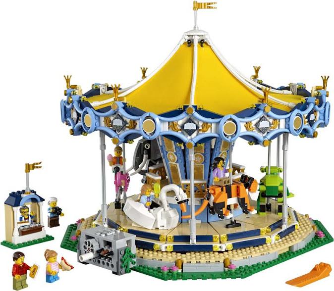 Contenido de Lego® 10217 Tiovivo