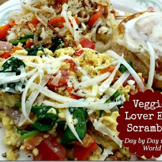 Veggie Lover Egg Scramble