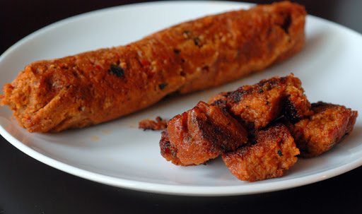 Vegan Chorizo Sausages