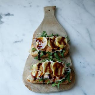 Grilled Crostini with Burrata, Prosciutto and Figs Recipe