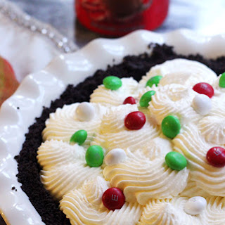 Dark Chocolate and Peppermint Whipped Cream Tart