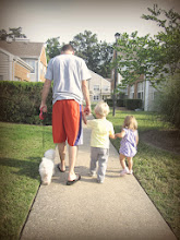 Photo: Taking a walk after snack time with Nudges