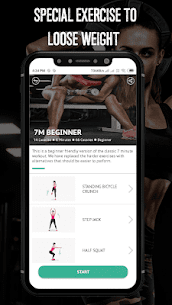 7 Minute Workout – Hipra Fitness App 3