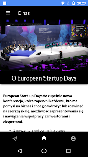 European Start-Up Days- screenshot thumbnail