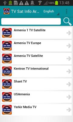 TV Sat Info Armenia - screenshot