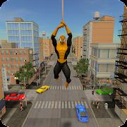 Flying Hero Crime City Battle  Icon