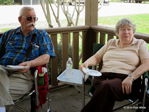 Photo: Clyde & Laura Brown    HALS Chili Fest Meet 2014-0301 RPW