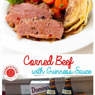 Guinness Corned Beef with Cabbage.