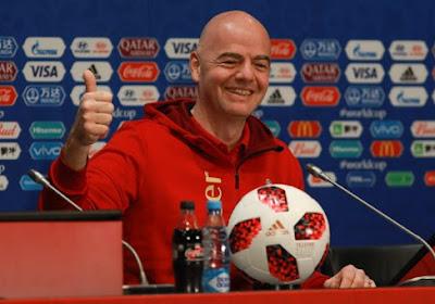 Le Président de la Fifa est favorable à une BeNeLigue