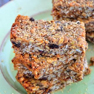 Gluten-Free & Dairy-Free Chewy Muesli Bars.