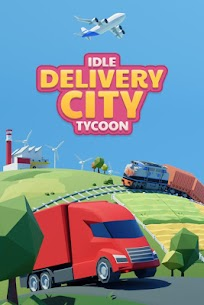 Idle Delivery City Tycoon: Cargo Transit Empire MOD (Money) 1