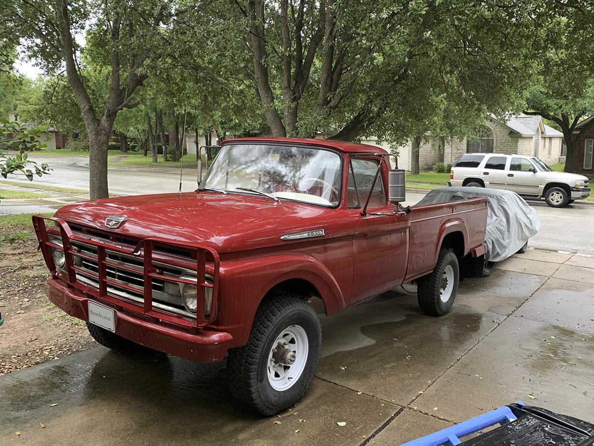 Ford F250 4x4 Hire Austin