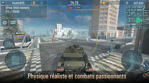 Armada Tanks: Jeux de Guerre de Tank Gratuit  captures d'écran 1