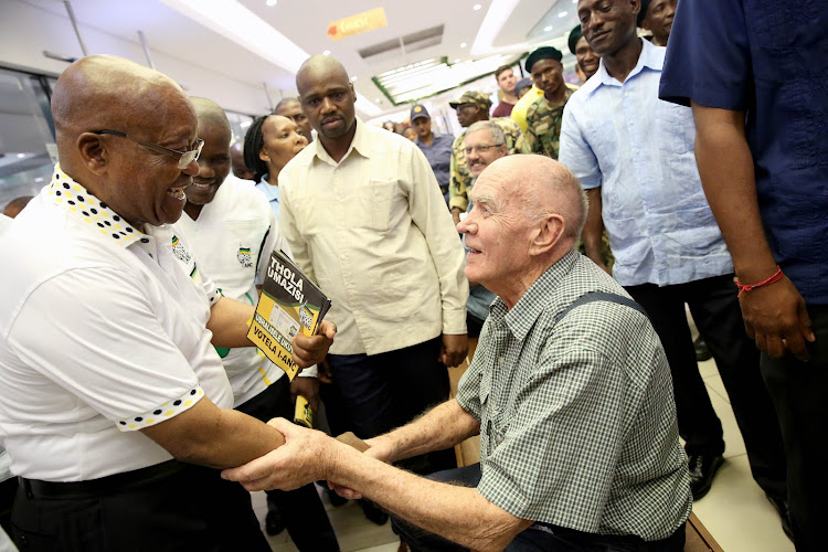 Former president Jacob Zuma visited the KZN south coast town of Port Shepstone on Tuesday as part of the ANC's election mobilisation campaign.