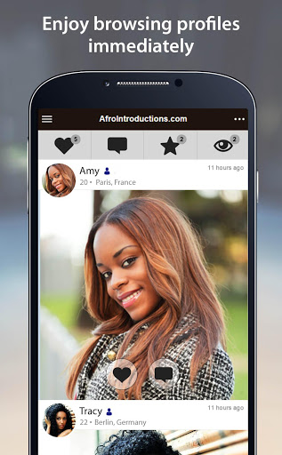 AfroIntroductions - African Dating App screenshots 2