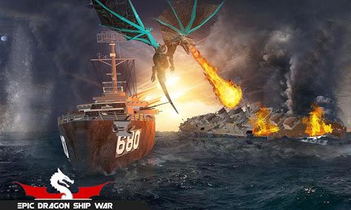 Flying Dragon Transformation Robot Battleship Game 1.2 screenshots 4
