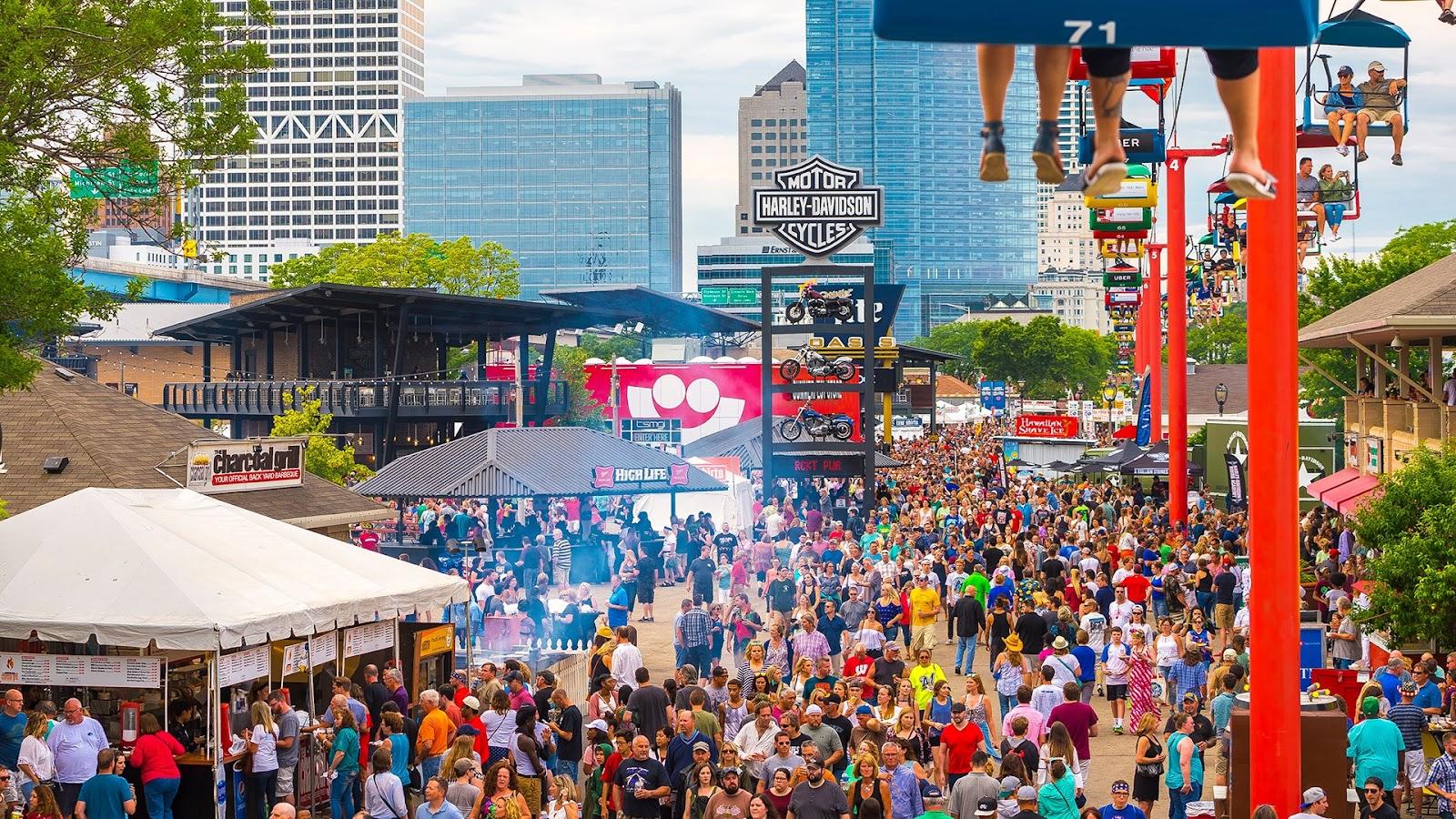 Image result for summerfest milwaukee 2019