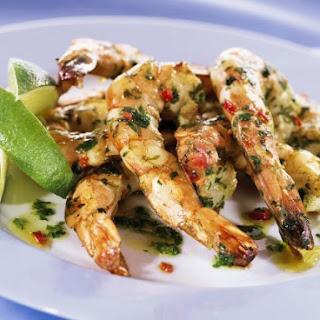 Grilled Herby Shrimp