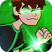 Ben Heartblast Alien Shooter - Run and Fight