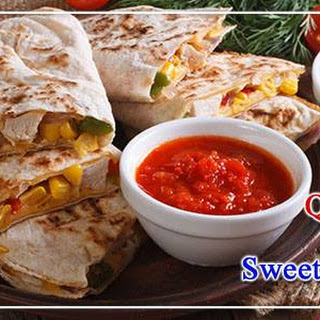 How to make Chicken Quesadillas and Sweetcorn Salsa