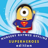 Nursery Rhymes Videos Offline - Superhero Edition