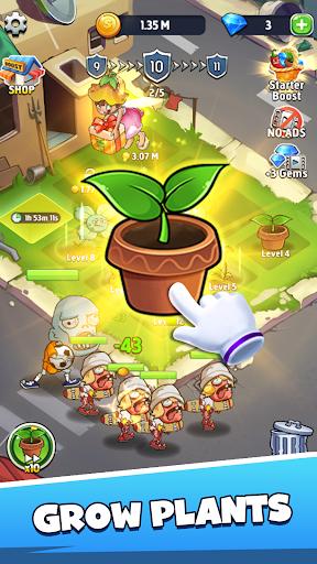 Merge Plants: Zombie Defense 1.0.7 screenshots 2