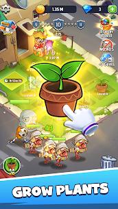 Merge Plants: Zombie Defense MOD (Unlimited Diamonds/No Ads) 2