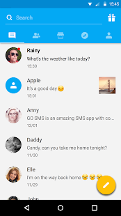 GO SMS Pro — темы, эмодзи, GIF Screenshot