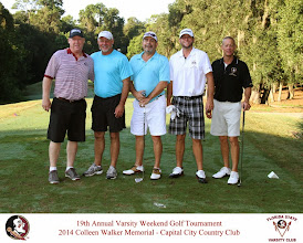 Photo: 19th Annual Varsity Weekend Golf Tournament: 2014 Colleen Walker Memorial held at Capital City Country Club.