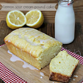 Sour Cream Pound Cake Glaze Recipes.