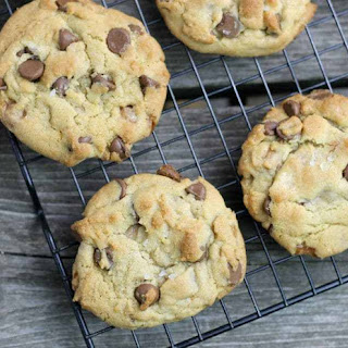 Chocolate Chip Salted Caramel Cookies.