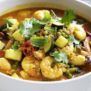 Korma Prawn Curry.
