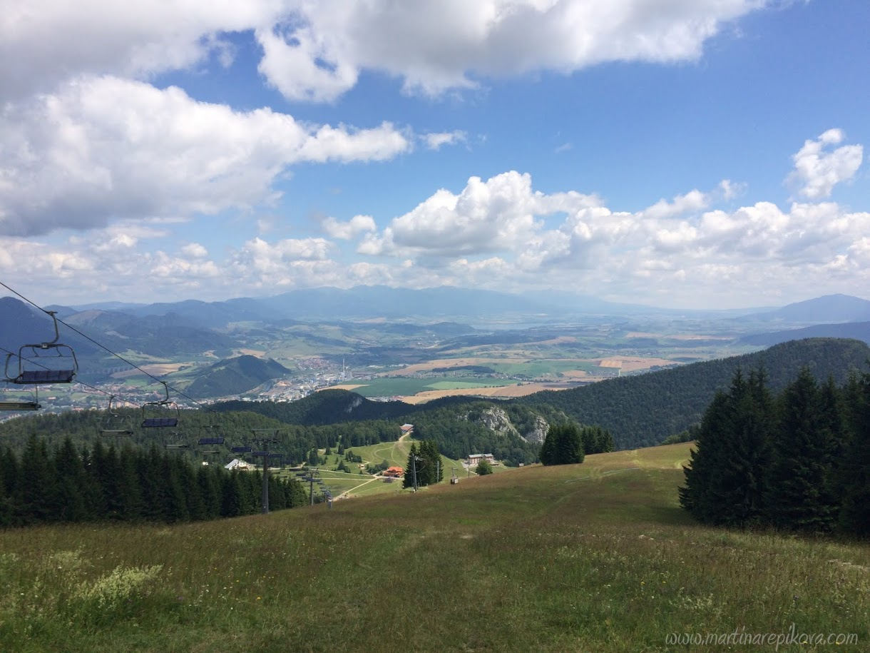 View from the top of Malino Brdo, Liptov, Slovakia