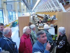 Photo: Führung im HERMES-Logistikzentrum