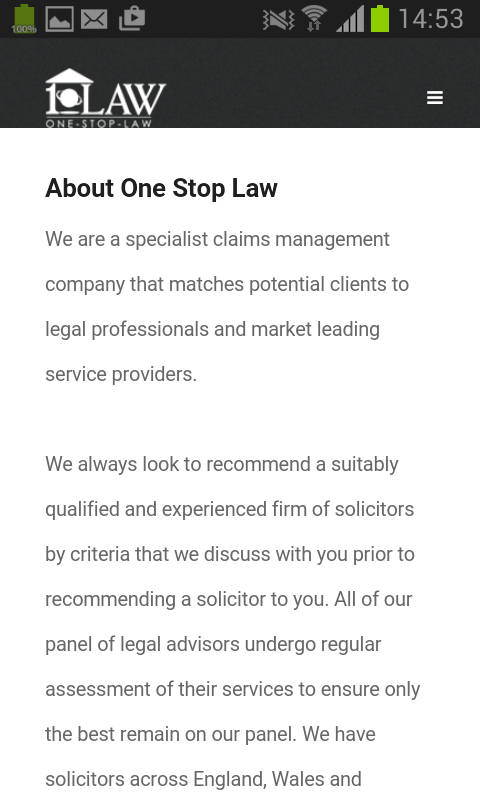 One Stop Law- screenshot