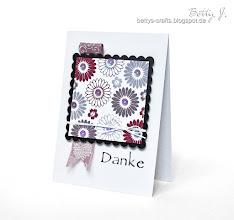 Photo: http://bettys-crafts.blogspot.de/2013/06/danke-die-dritte.html