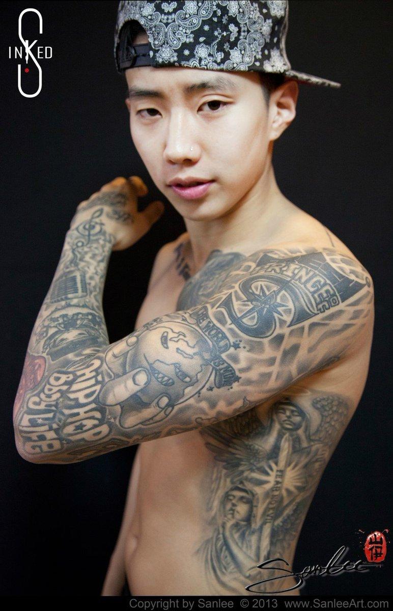 jay park tattoo
