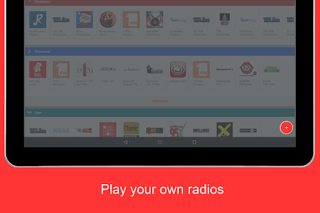 Internet Radio Player - Shoutcast Screenshot