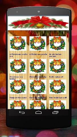 android Christmas SMS for Whatsapp Screenshot 0