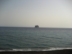 Photo: Strombolicchio volkanik adası.    Strombolicchio volcanic island.