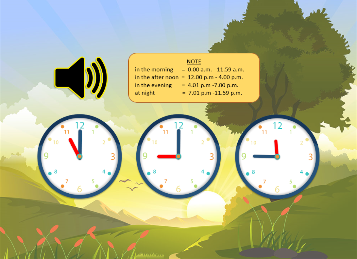 worksheet Learn To Tell Time learn to tell time android apps on google play screenshot