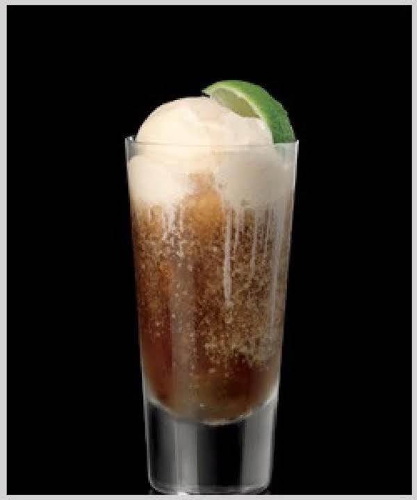 Rum N Coke Float