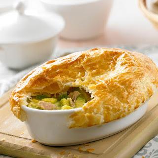 Tuna and Avocado Pie Recipe
