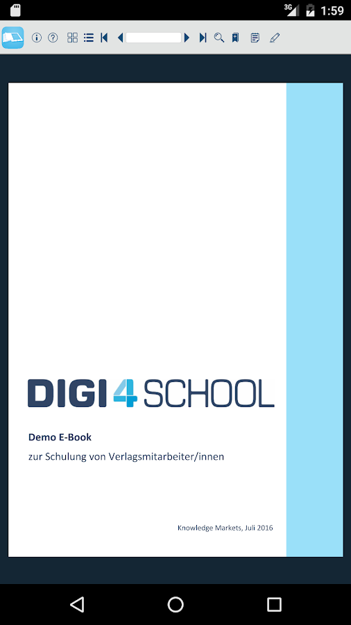 digi4school – Screenshot